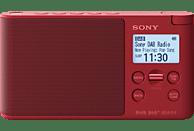 SONY XDR-S41D Radio, PLL-Synthesizer, FM, DAB, DAB+, Rot