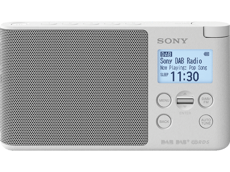 SONY XDR-S41D, Radio