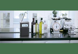 SONY Tragbares DAB/DAB+-Uhrenradio XDR-V20D, grau