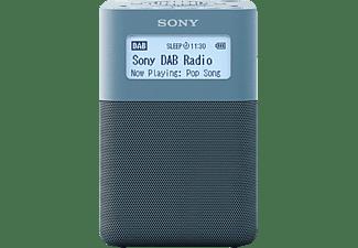 SONY XDR-V20D Radio, PLL-Synthesizer, FM, DAB+, DAB, Blau