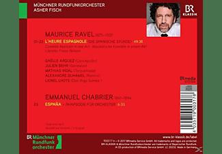Asher Fisch - L'Heure Espagnole/Espana  - (CD)