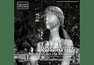 Andryushchenko Olga - Sämtliche Werke für Klavier solo  - (CD)