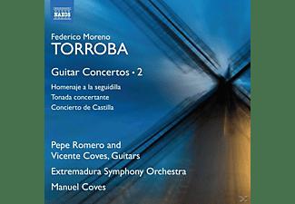 Romero/Coves/Coves/Extremadura SO - Gitarrenkonzerte Vol.2  - (CD)