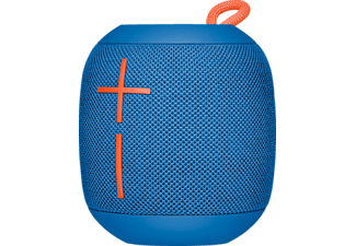 Altavoz inalámbrico - Ultimate Ears Wonderboom Subzero, Bluetooth, Autonomía de 10h, Resistente, Azul