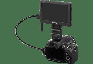 SONY CLM-V55, LC-Display, Schwarz, passend für DSLR-Kameras