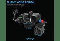 LOGITECH G Saitek PRO Flight Yoke System Steuerknüppel-System