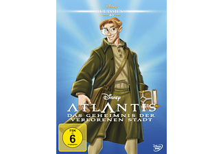 Atlantis - Das Geheimnis der verlorenen Stadt (Disney Classics) DVD