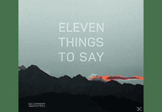 Jonas Winterhalter Big Band - Eleven Things To Say  - (CD)