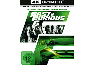 Fast & Furious 6 4K Ultra HD Blu-ray + Blu-ray
