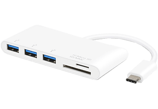 VIVANCO USB-C - 3xUSB 3.1 SD & Micro SD