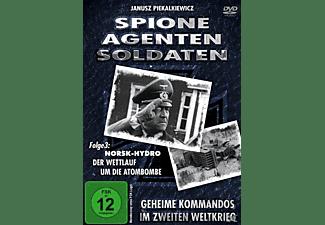Spione, Agenten, Soldaten: Norsk Hydro , Der Wettlauf um die Atombombe DVD