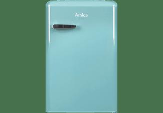 AMICA VKS15622T Kühlschrank (F, 860 mm hoch, Blau)