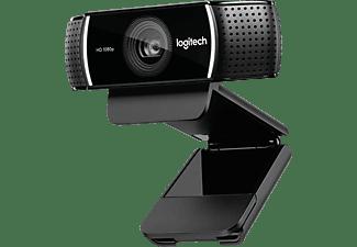 LOGITECH Webcam C922 Pro Stream, schwarz (960-001088)