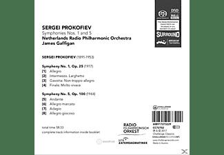 Netherlands Radio Philharmonic Orchestra - Sinfonien 1 And 5  - (SACD Hybrid)