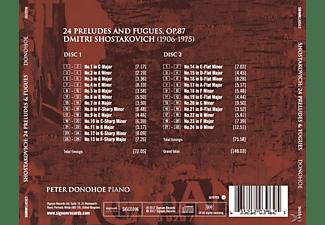 Peter Donohe - 24 Präludien & Fugen,op.87  - (CD)
