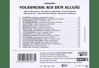 VARIOUS - VOLKSMUSIK A.D.ALLGÄU Instrumental  - (CD)