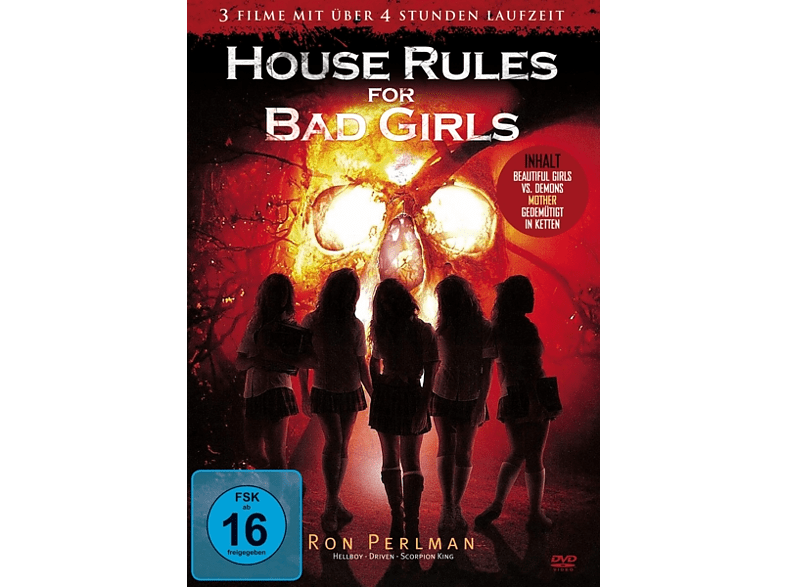 House Rules For Bad Girls (3 Filme Edition) [DVD]