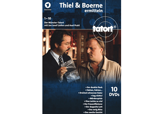 Tatort - Thiel Und Boerne Ermitteln (1) (Fall 1-10) DVD