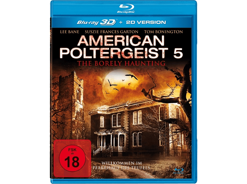 American Poltergeist 5 - The Borely Haunting [3D Blu-ray (+2D)]