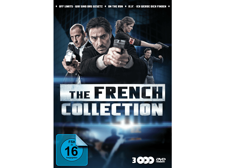 The French Collection: Off Limits - On the Run - R.I.F. [DVD]