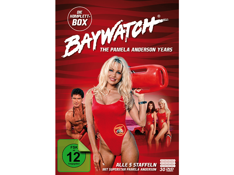 Baywatch - The Pamela Anderson Anderson Years - Komplettbox - Alle 5 Staffeln [DVD]