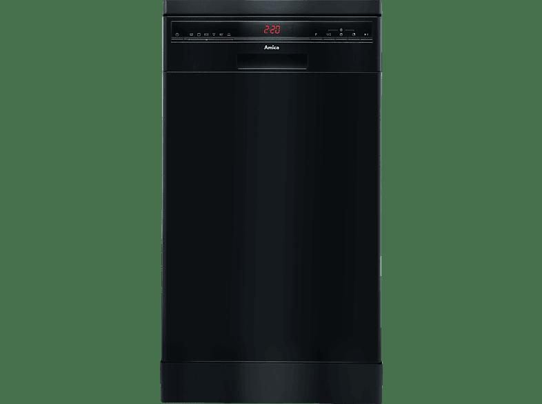 AMICA GSP 14744 S  Geschirrspüler (Standgerät, 450 mm breit, 49 dB (A), A++)