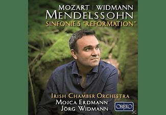 Mojca Erdmann, The Irish Chamber Orchestra - Sinfonie 5/Adagio und Fuge/+  - (CD)