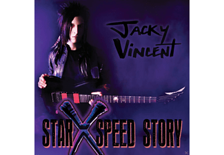 Jacky Vincent - Star X Speed Story  - (CD)