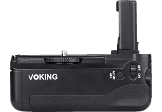 VOKING VK-BG SA7, Batteriegriff, Schwarz, passend für Sony A7, A7R, A7S