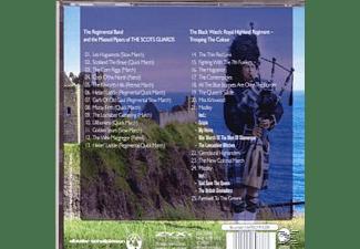 The Scots Guards & The Black Watch - Schottische Militärmärsche  - (CD)