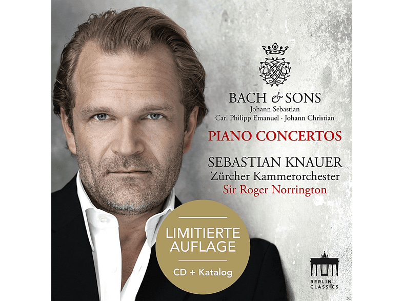 Sebastian Knauer, Zürcher Kammerorchester - Bach & Sons-Piano Concertos-Sonderedition [CD]