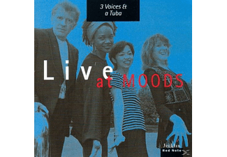 3 Voices & A Tuba - Live at Moods: 3 Voices and a Tuba  - (CD)