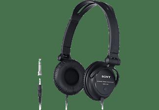 SONY MDR-V150, On-ear Kopfhörer Schwarz