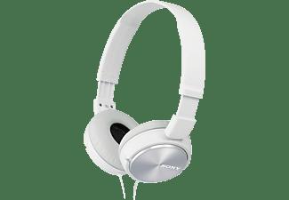 SONY MDR-ZX310, On-ear Kopfhörer Weiß