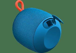 ULTIMATE EARS WONDERBOOM Bluetooth Lautsprecher, Subzero Blau, Wasserfest