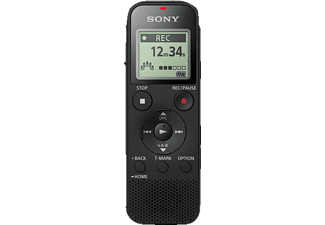 SONY ICD-PX470 Digitaler Voice Recorder, Schwarz