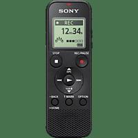 SONY ICD-PX370 Digitaler Voice Recorder, Schwarz