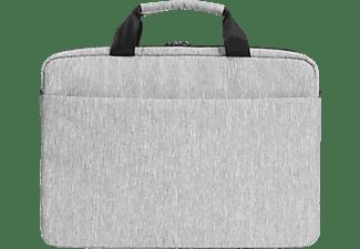 DICOTA Slim EDGE Notebooktasche Umhängetasche für Universal Polyester, Light Grey