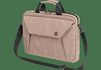 DICOTA Slim EDGE Notebooktasche Umhängetasche für Universal Polyester, Sandstone