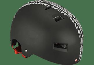 FISCHER 86717  BMX TRACK (Fahrradhelm, 58 - 61 cm, Schwarz)