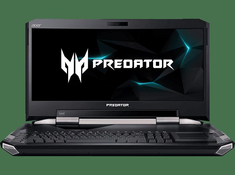 ACER Predator 21 X (GX21-71-74DP), Gaming Notebook mit 21 Zoll Display, Core™ i7 Prozessor, 512 GB SSD, 512 GB SSD, GeForce GTX 1080 im SLI-Verbund, Schwarz