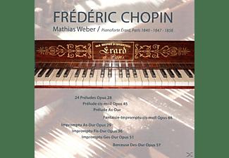 Mathias Weber - Sämtliche Preludes und Impromptus  - (CD)