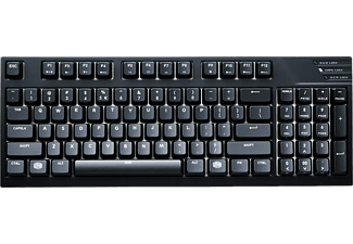 COOLER MASTER Gaming-Tastatur MasterKeys Pro M, MX-Brown (SGK-4080-KKCM1-DE)