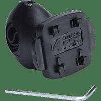 TAHUNA fix - Kugelgelenk, Fahrradhalterung, passend für GPS-Geräte, Schwarz