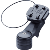 TAHUNA fix - Vorbau, Fahrradhalterung, passend für GPS-Geräte, Schwarz