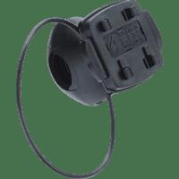 TAHUNA fix - MTB, Fahrradhalterung, passend für GPS-Geräte, Schwarz