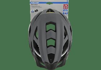 FISCHER 86724 Urban Levin (Fahrradhelm, 58 - 61 cm, Schwarz)