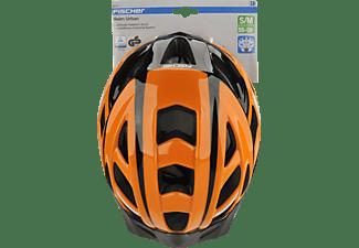 FISCHER 86731 Urban Sport (Fahrradhelm, 52 - 59 cm, Orange)