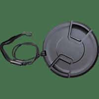 BILORA 7050-52, Objektivdeckel, Filterdurchmesser: 52 mm, Schwarz, passend für Objektive