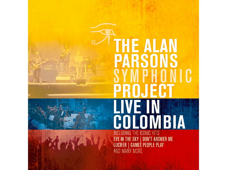 The Alan Parsons Symphonic Project - Live In Colombia [CD]